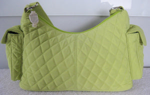 Vera Bradley Key Lime Pocket Hobo Bag