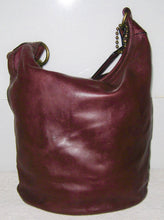 COACH 11423 BURGUNDY BLEECKER XL DUFFLE SHOULDER BAG