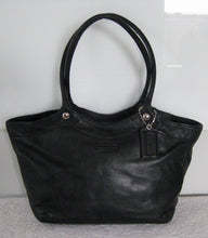 COACH 14383 BLACK LEATHER BLEECKER SHOULDER TOTE BAG
