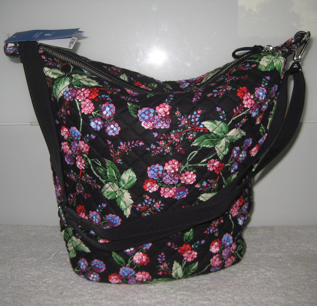 Vera Bradley Winter Berry Carson Hobo Bag