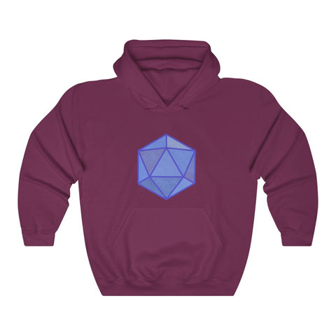 Icosahedron - Unisex Heavy Blend™ Hooded Sweatshirt