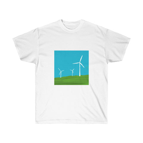 Wind Turbines - Unisex Ultra Cotton Tee