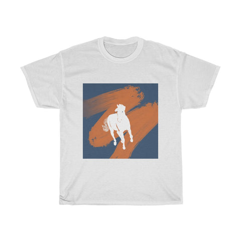 White Horse - Unisex Heavy Cotton Tee