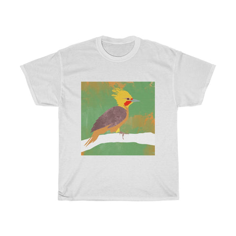 Bird Design - Unisex Heavy Cotton Tee