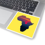 Africa Kiss-Cut Stickers