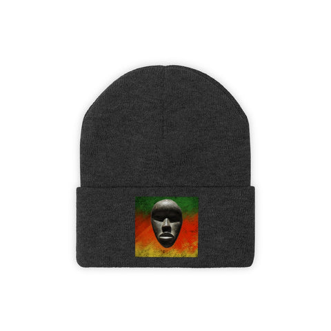 African Mask - Knit Beanie