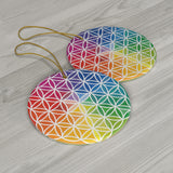 Flower of Life - Ceramic Ornaments
