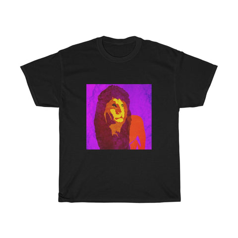 Lion - Unisex Heavy Cotton Tee