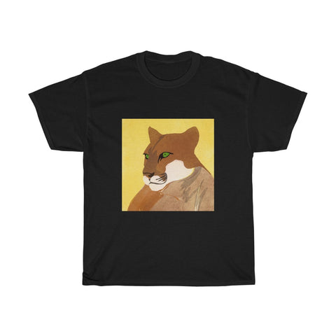 Big Cat - Unisex Heavy Cotton Tee