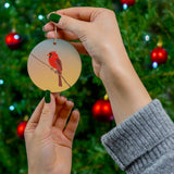 Red Cardinal - Ceramic Ornaments