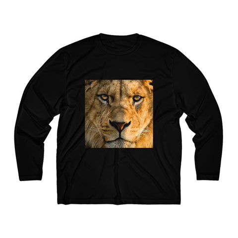 Lion - Men's Long Sleeve Moisture Absorbing Tee
