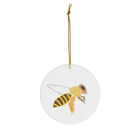 Yellow Jacket Bee - Ceramic Ornaments