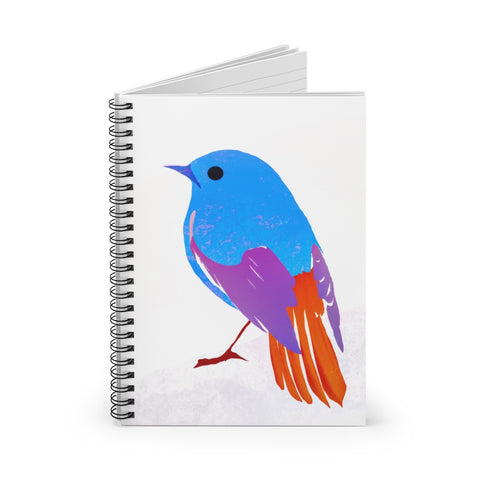 Bird - Spiral Notebook - Ruled Line