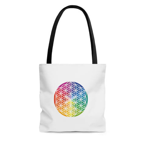 Flower of Life - AOP Tote Bag