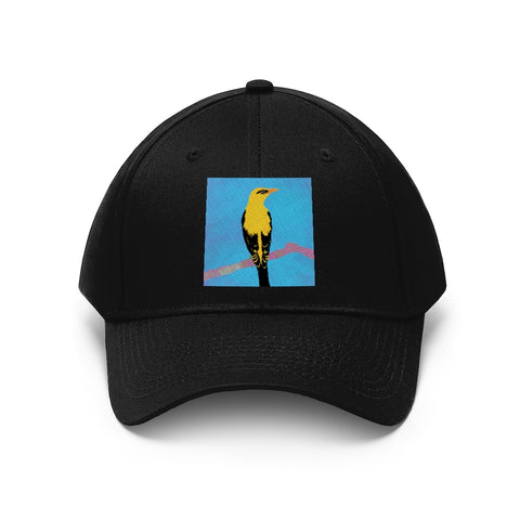Bird Design - Unisex Twill Hat