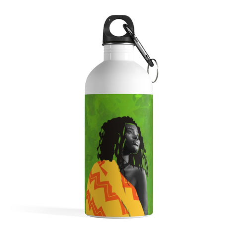 African Art - Stainless Steel Water Bottle