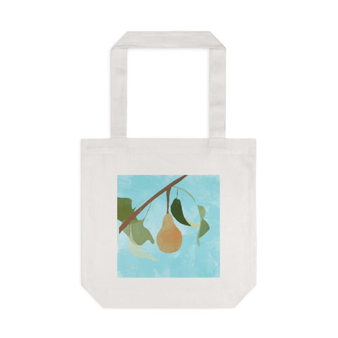 Pear - Cotton Tote Bag