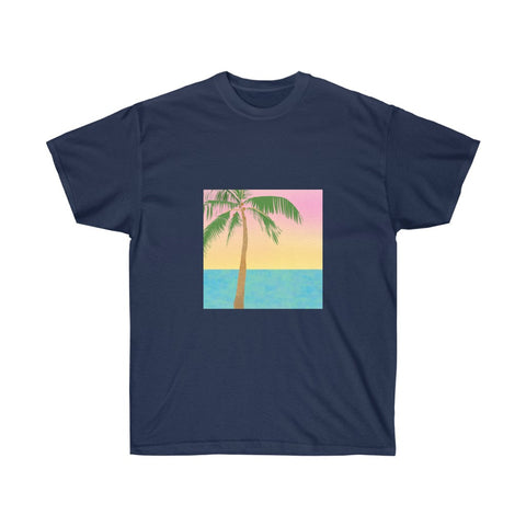 Tropical Scene - Unisex Ultra Cotton Tee
