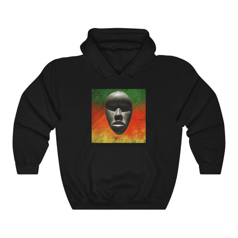 African Mask - Unisex Heavy Blend™ Hooded Sweatshirt