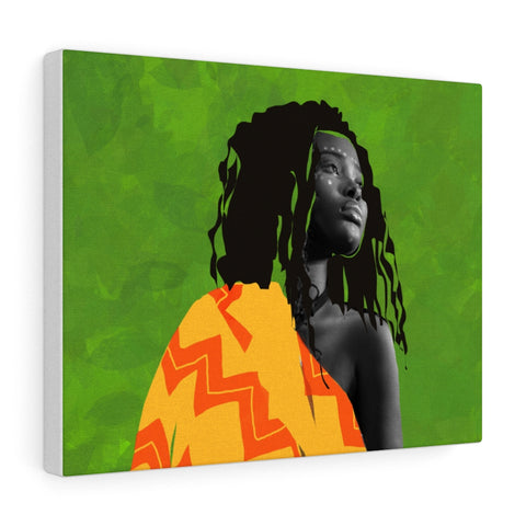 African Figure - Canvas Gallery Wraps