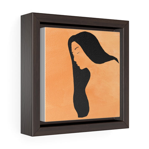 Female - Square Framed Premium Gallery Wrap Canvas