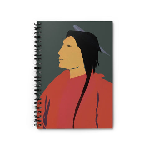 Indigenous Design - Spiral Notebook - Ruled Line