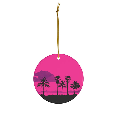 Palm Trees - Ceramic Ornaments