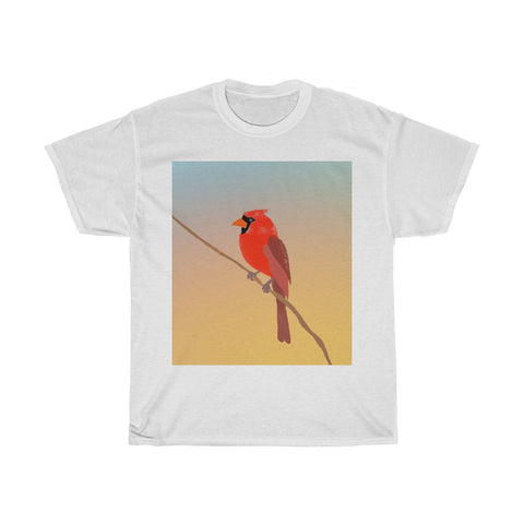 Red Cardinal - Unisex Heavy Cotton Tee