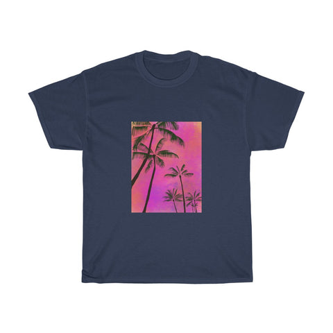 Palm Trees - Unisex Heavy Cotton Tee