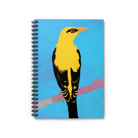 Bird Design - Spiral Notebook - Ruled Line
