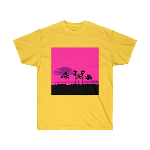 Palm Trees - Unisex Ultra Cotton Tee