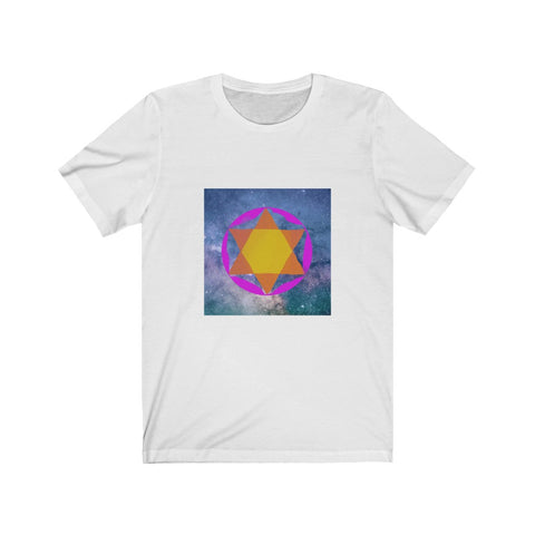 Hexagram - Unisex Jersey Short Sleeve Tee