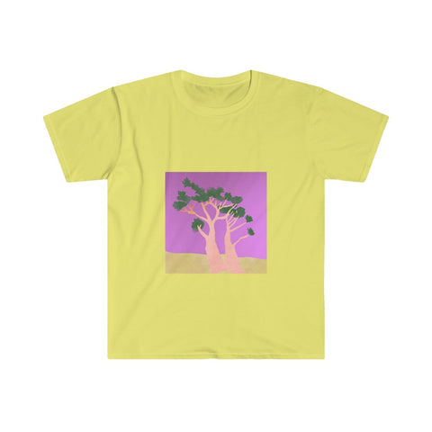 Tree - Men's Fitted Short Sleeve Tee