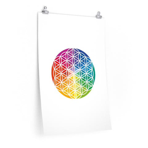 Flower of Life - Premium Matte vertical posters