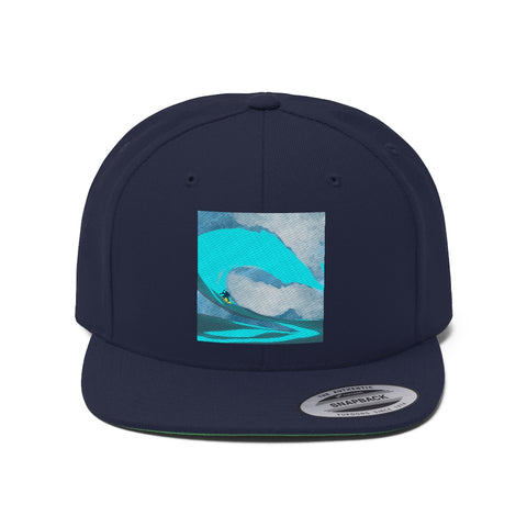Surfing - Unisex Flat Bill Hat