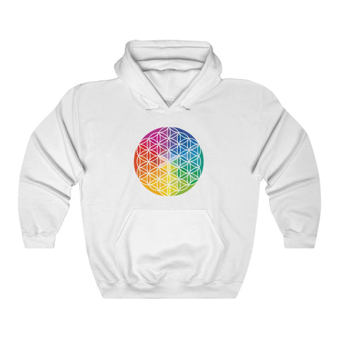 Flower of Life - Unisex Heavy Blend™ Hooded Sweatshirt