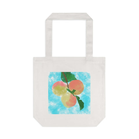 Peaches - Cotton Tote Bag