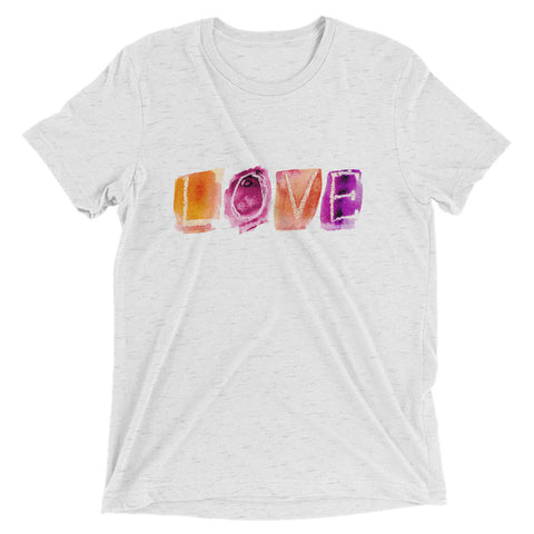 Short sleeve Love T-shirt