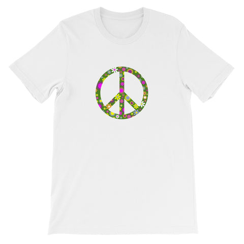 Short-Sleeve Peace Unisex T-Shirt
