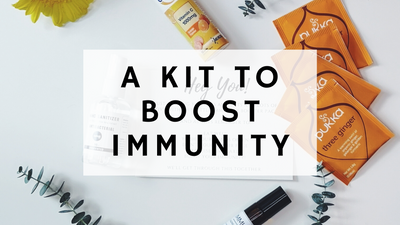 TIME TO AMP UP IMMUNITY