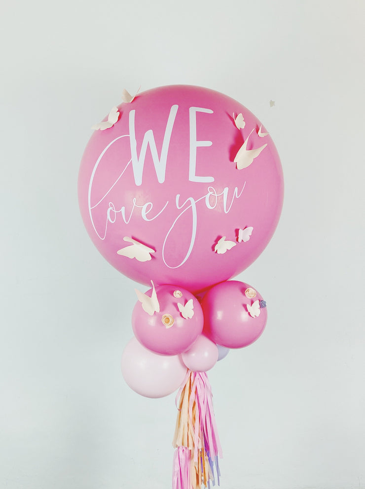 Jumbo Rose Latex Balloon
