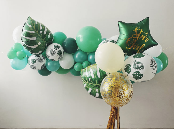 Mini Balloon Garland - Tropical (XL) - WhichKraft Projekt
