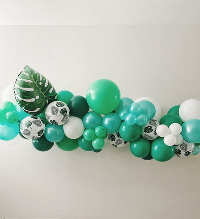 MINI ORGANIC BALLOON GARLAND - TROPICAL [XL]