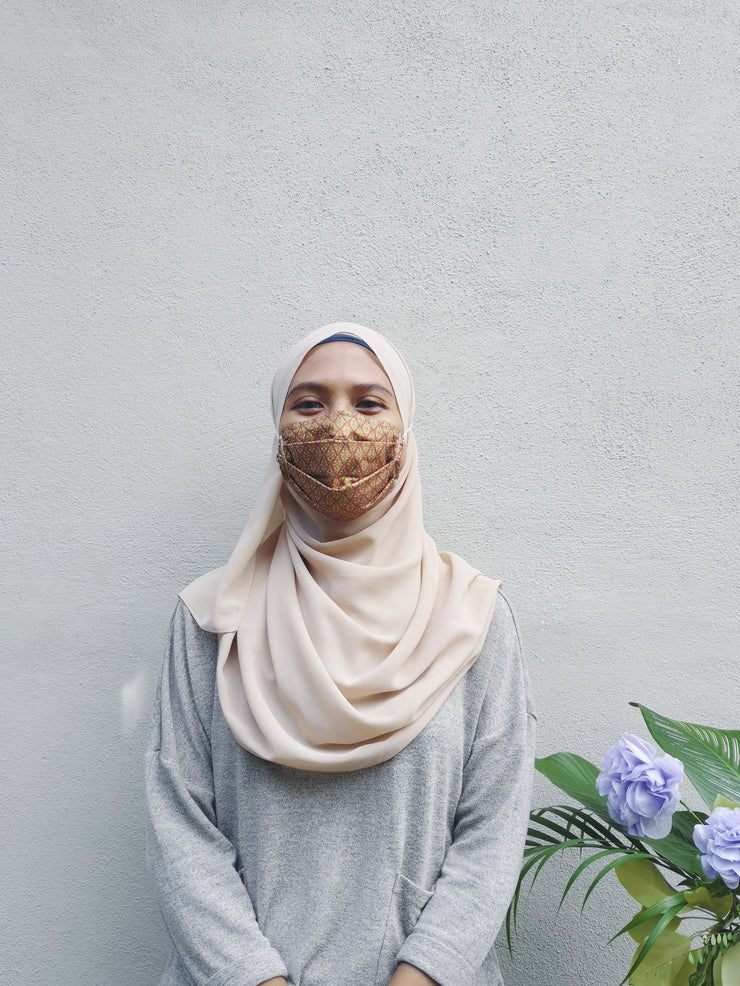 REUSABLE CLOTH MASK (NO FILTER) - WhichKraft Projekt