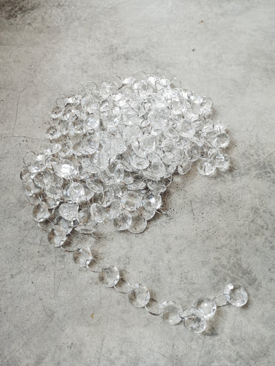 STRING OF CRYSTAL BEADS - 5m