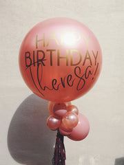 JUMBO LATEX BALLOON - ROSE GOLD - WhichKraft Projekt
