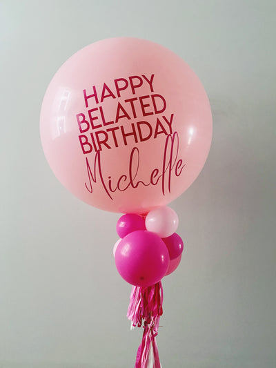Jumbo Latex Balloon - Pink - WhichKraft Projekt