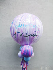 Jumbo Latex Balloon - Cotton Candy - WhichKraft Projekt