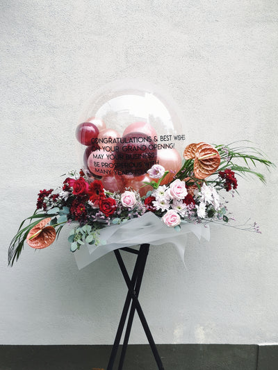 BUBBLE BALLOON FLOWER STAND - WhichKraft Projekt