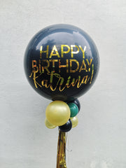 Jumbo Latex Balloon - Black